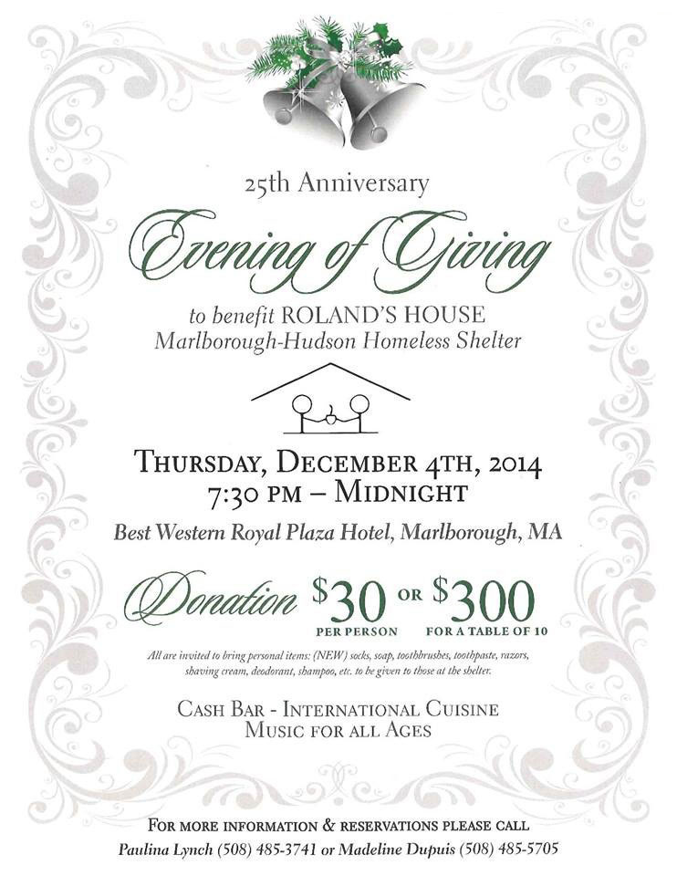 25th Anniversary Evening of Giving