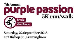 Voices Against Violence Purple Passion 5K Run/Walk to Break the Silence 2018