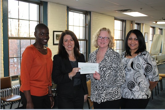 $10,000 grant from the Verizon Foundation